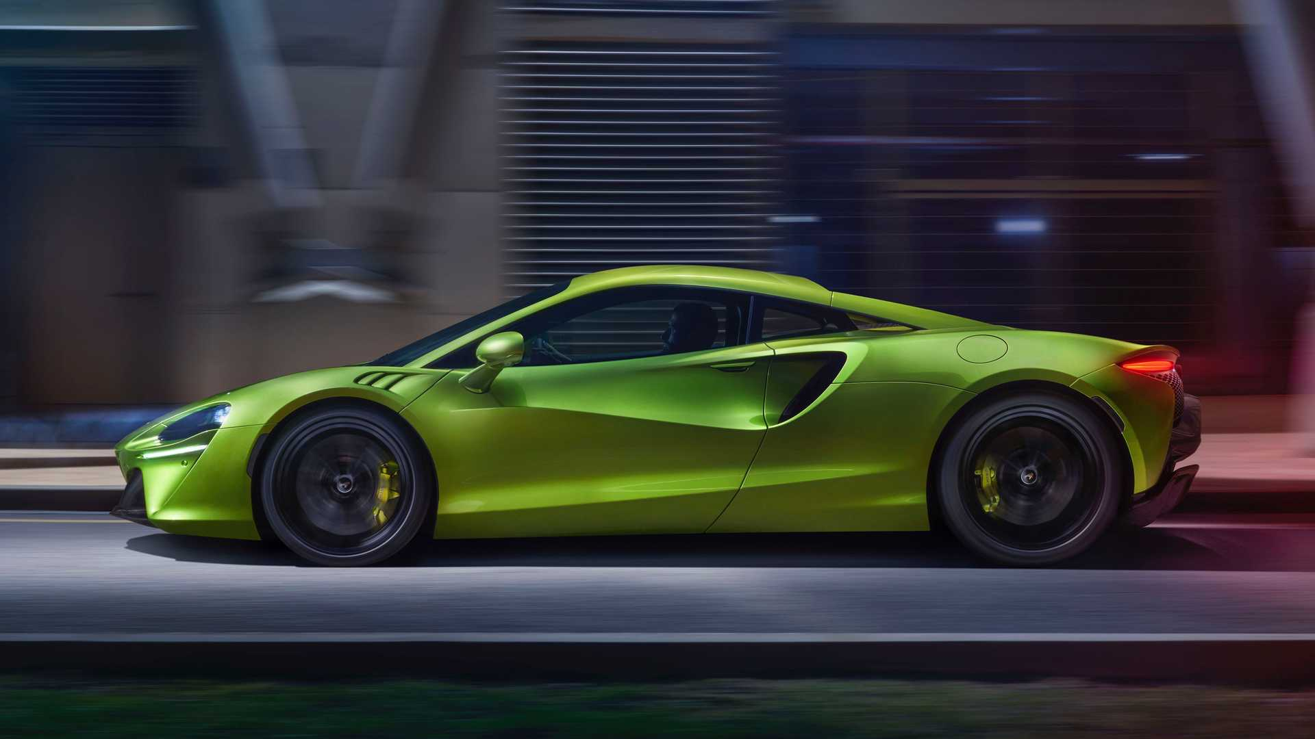 2022 McLaren Artura Exterior