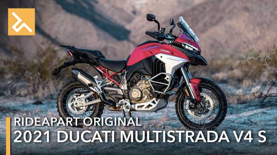 4 Ways Ducati Made The Multistrada V4 S A Superior Adventure Bike