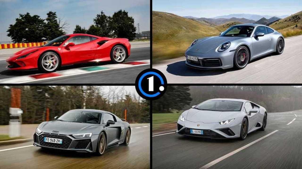 Les dix supercars les plus vendues en France en 2020.