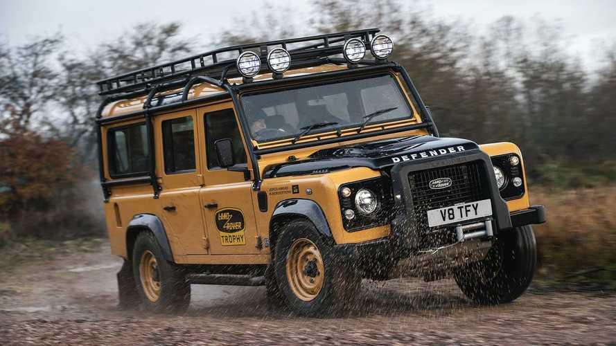 Land Rover Defender Works V8 Trophy: Camel lässt grüßen