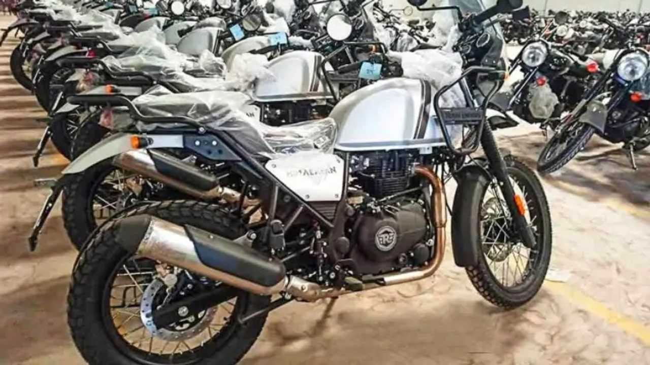 2021 Royal Enfield Himalayan Spied Ahead Of India Launch