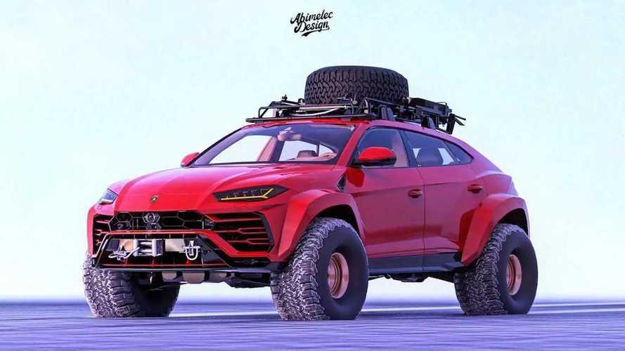 Lamborghini Urus Arctic Expedition Renderings