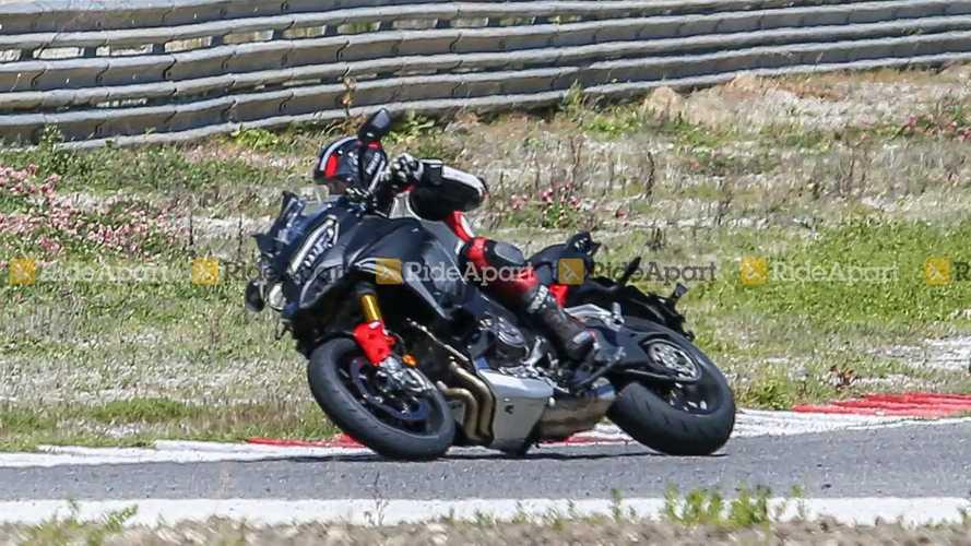 Ducati Multistrada V4 Pikes Peak Spy Shots
