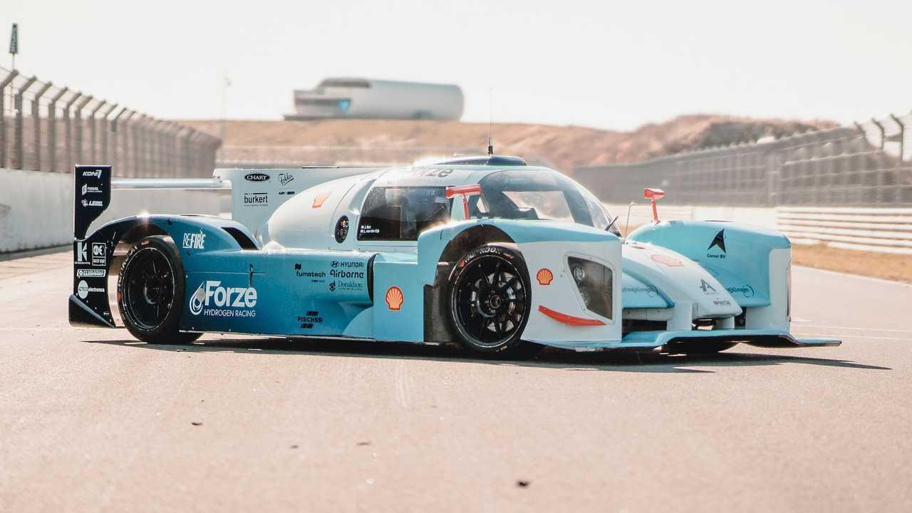 Forze IX, un coche de carreras de hidrógeno