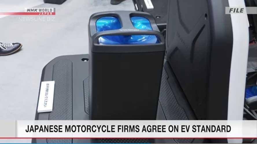 4 Pabrik Motor Jepang Berkongsi Bikin Baterai yang Dapat Ditukar