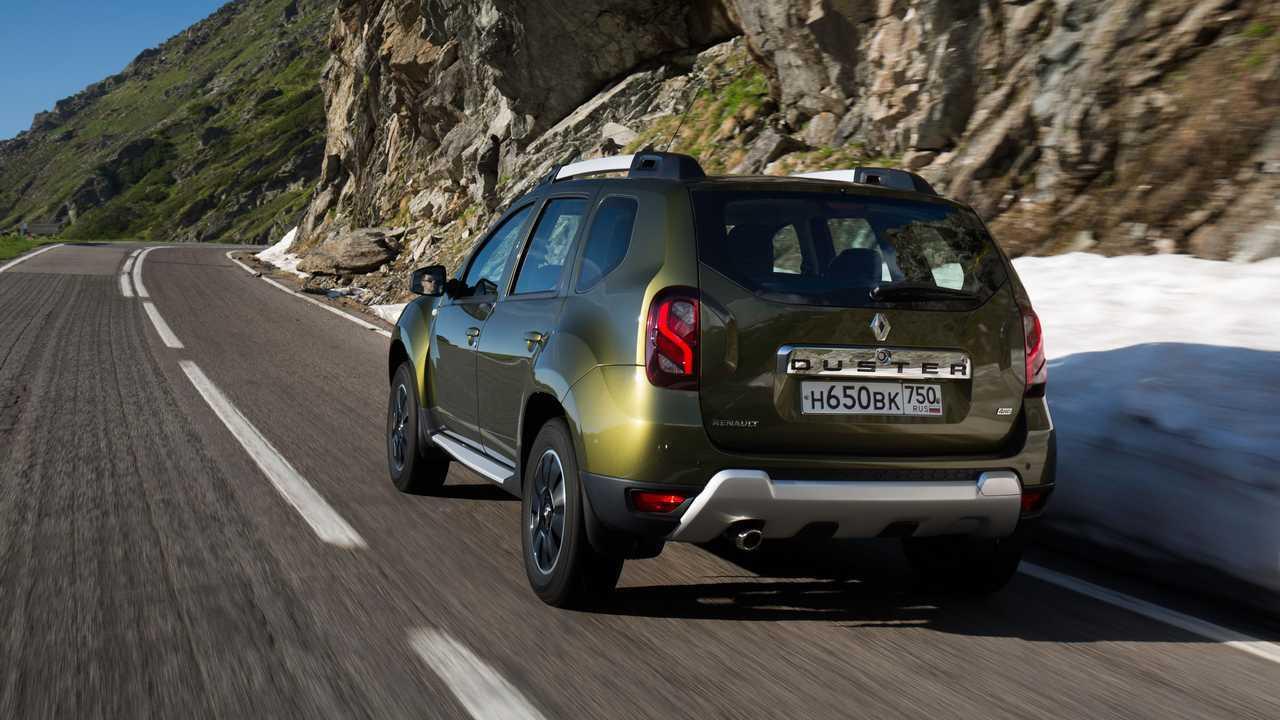 Рестайлинг Renault Duster первого поколения