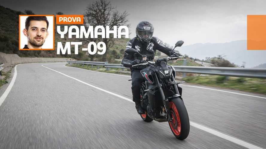 Yamaha MT-09 2021 - TEST