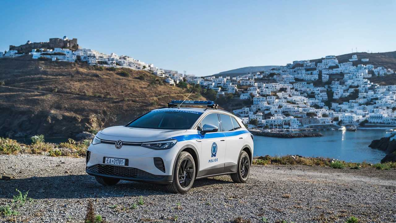 Volkswagen ID.4 Police Grèce
