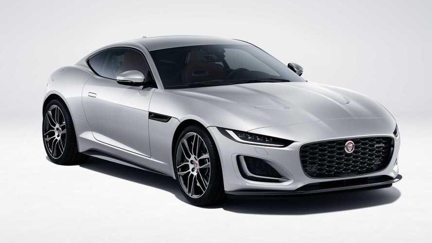 Обновленный Jaguar F-Type для США (2021)