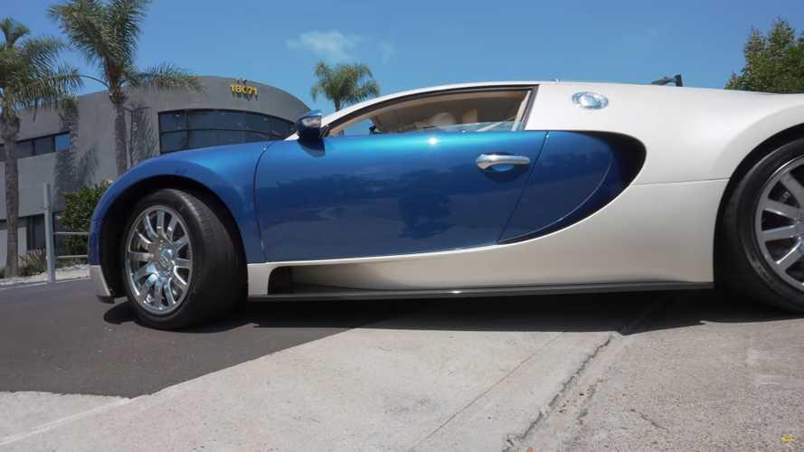 Pemilik Bugatti Veyron Berkendara dengan Ban Asli Usia 15 Tahun