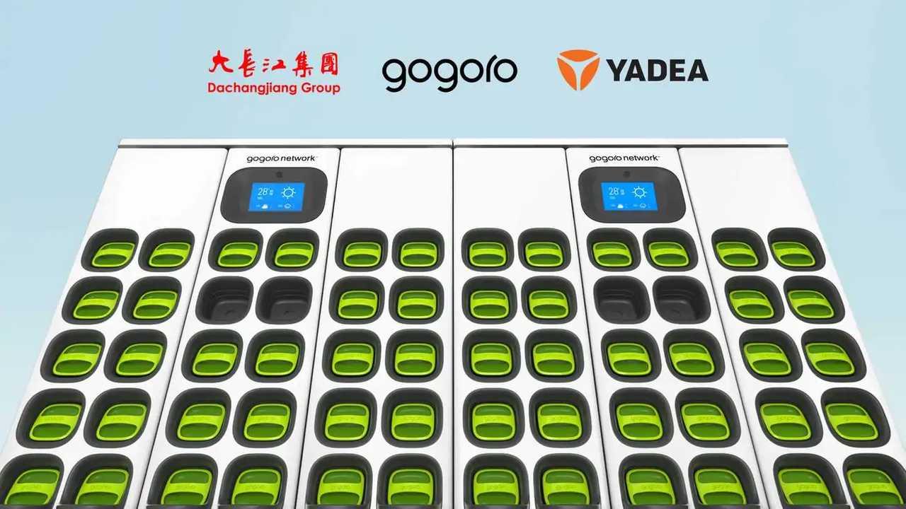Gogoro Battery Network China