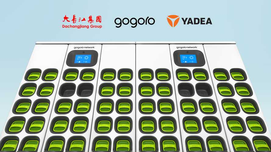 Gogoro, DCJ, And Yadea Bring Battery Swapping Network To China