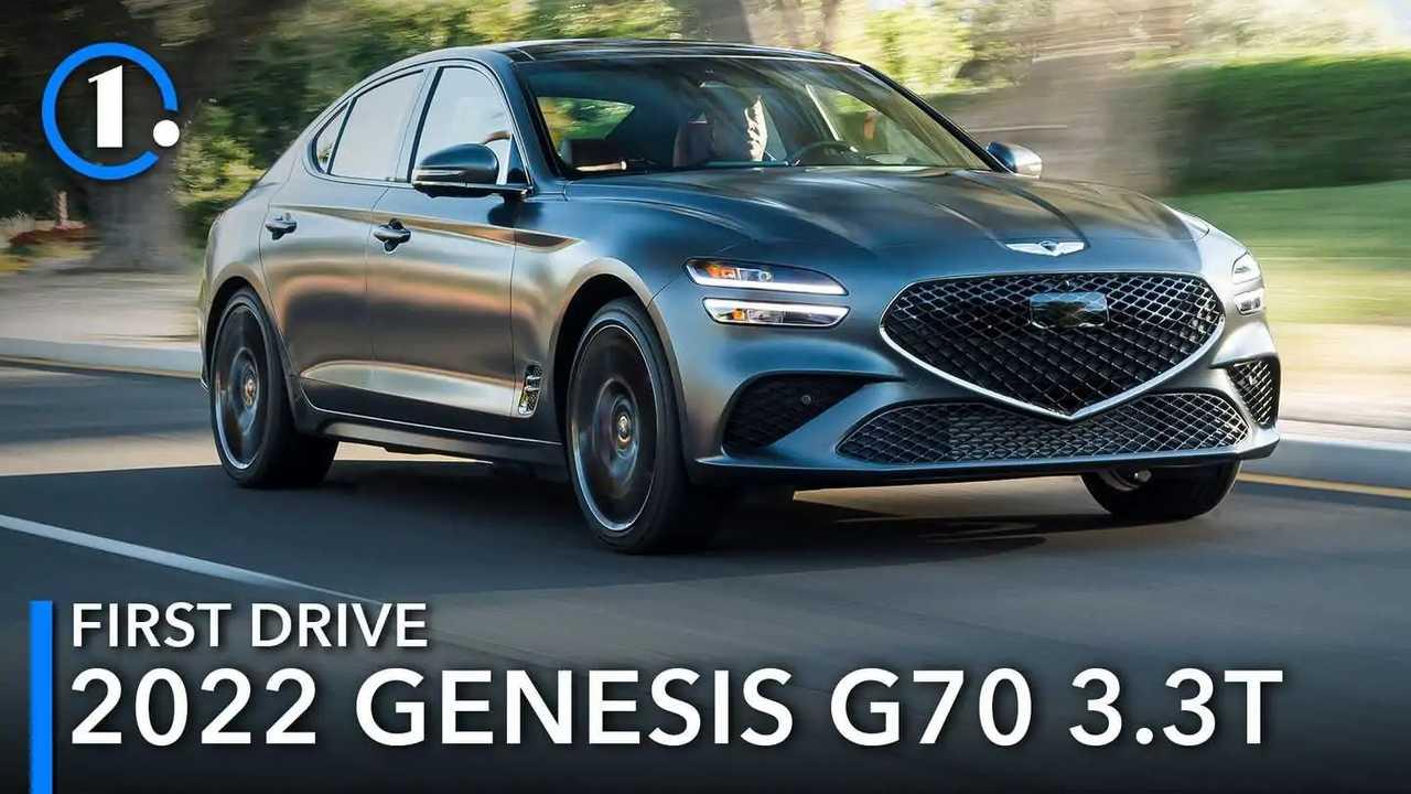 2022 Genesis G70 First Drive Lead