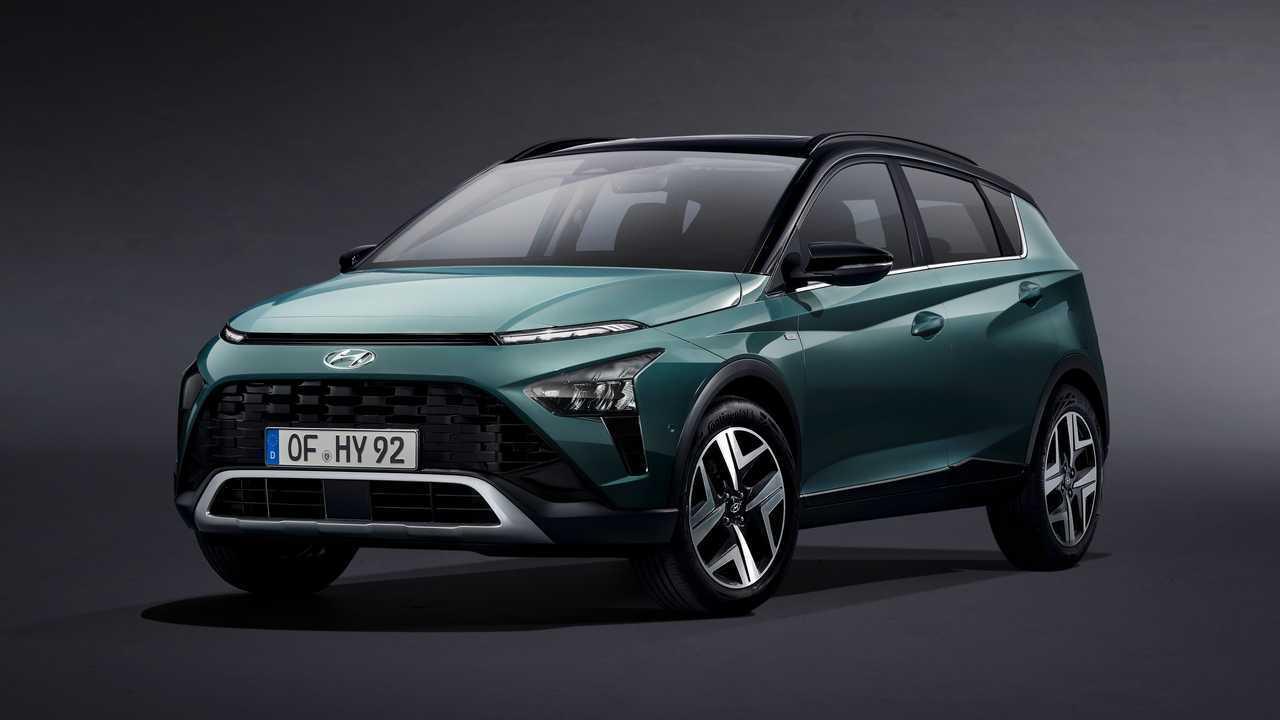 Hyundai Bayon, official photos