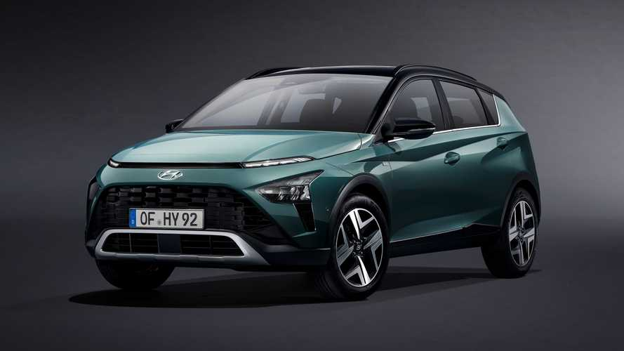 Hyundai's new Bayon SUV will cost just over £20k