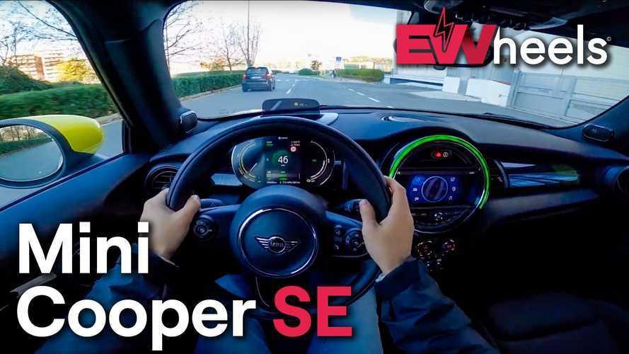 Mini Cooper SE POV Test Drive