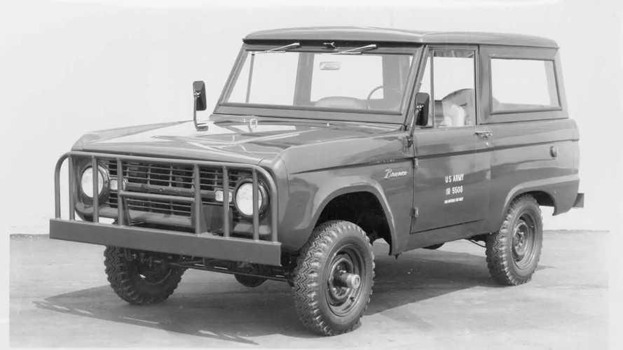 Ford Bronco militar