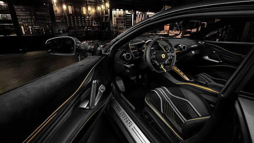 Ferrari 812 Superfast, interni spaziali con Carlex Design