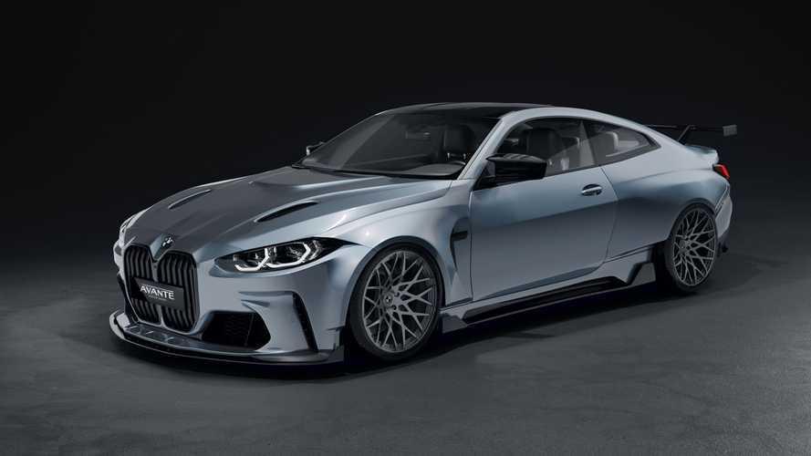 La BMW M4 diventa ancora più minacciosa con la carrozzeria allargata