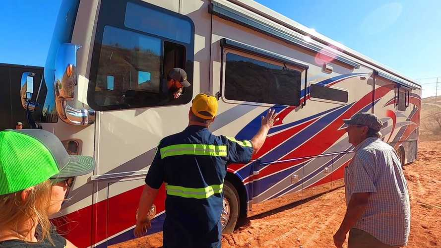 Corvair Off-Roader Saves The Day By Rescuing High-End RV