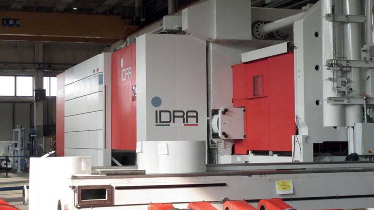 La Giga Press della bresciana Idra