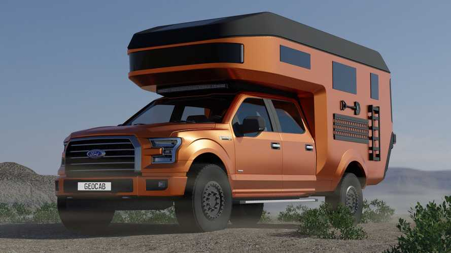 German Carbon Fiber Camper Trucks From GEO-Cab Are Coming To America