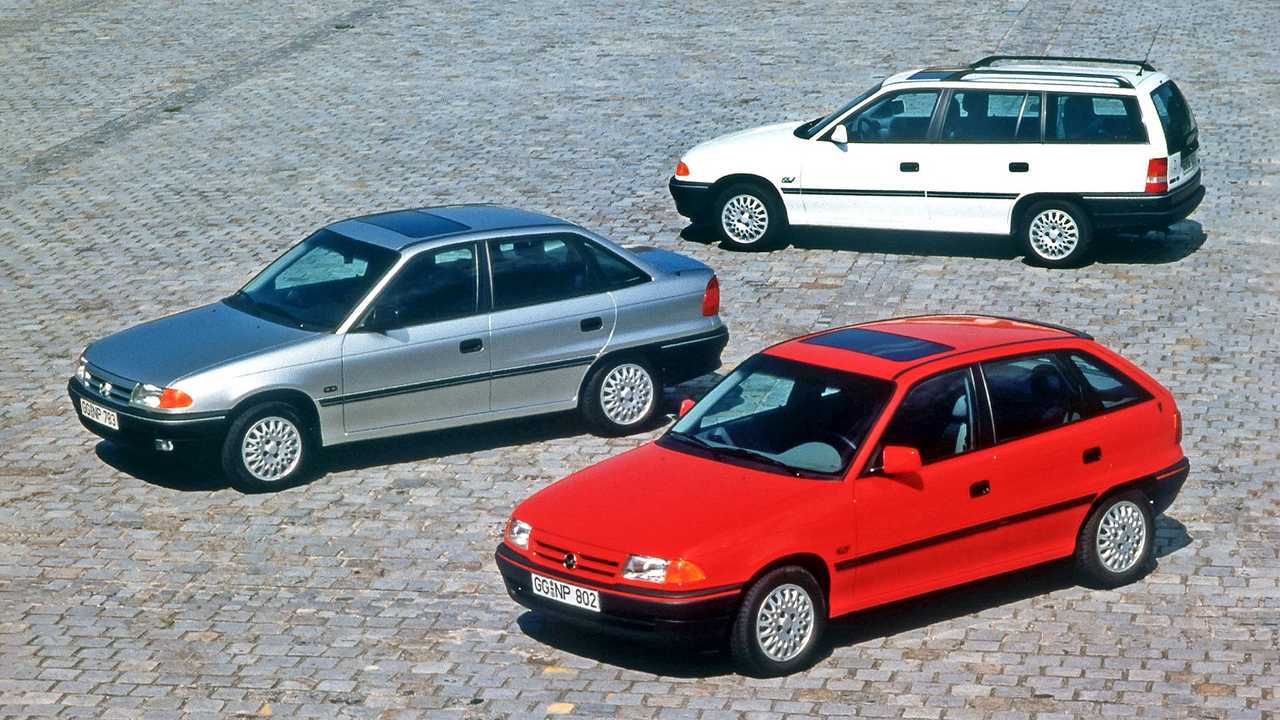 Opel Astra F 30 Jahre Jubiläum