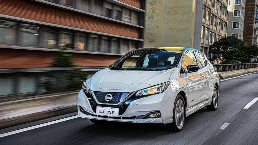 Leaf entra em app de compartilhamento de carro elétrico no Brasil