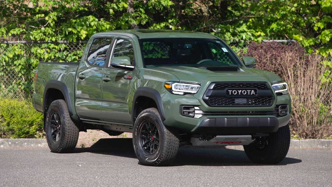 One-Millionth Toyota Tacoma Will Be Up For Auction