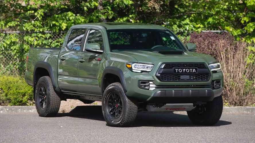 Toyota Tacoma Produksi Kesatu Juta Siap Dilelang