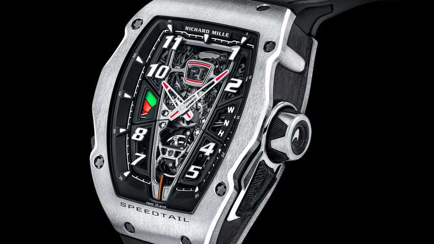 Finally, there's a fancy watch to match your McLaren Speedtail