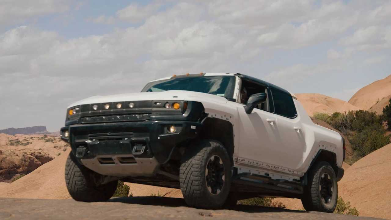 GMC Hummer EV in Moab (video)