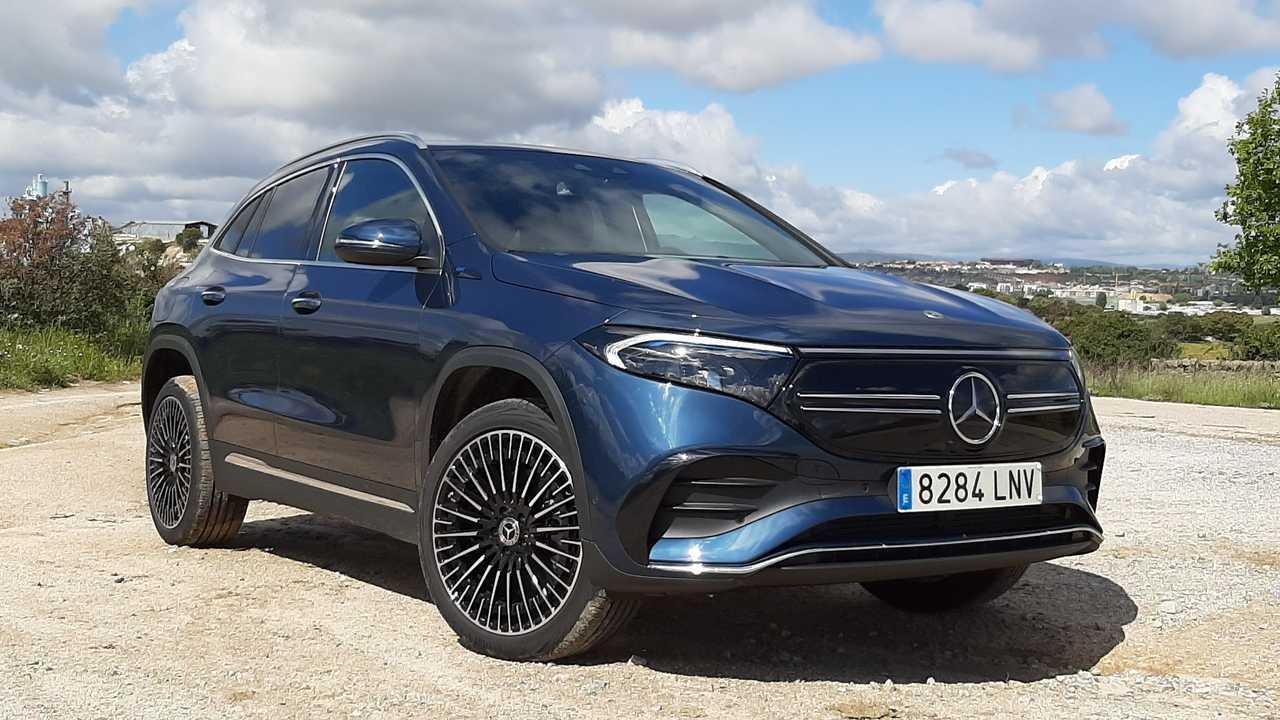 Prueba Mercedes-Benz EQA 2021
