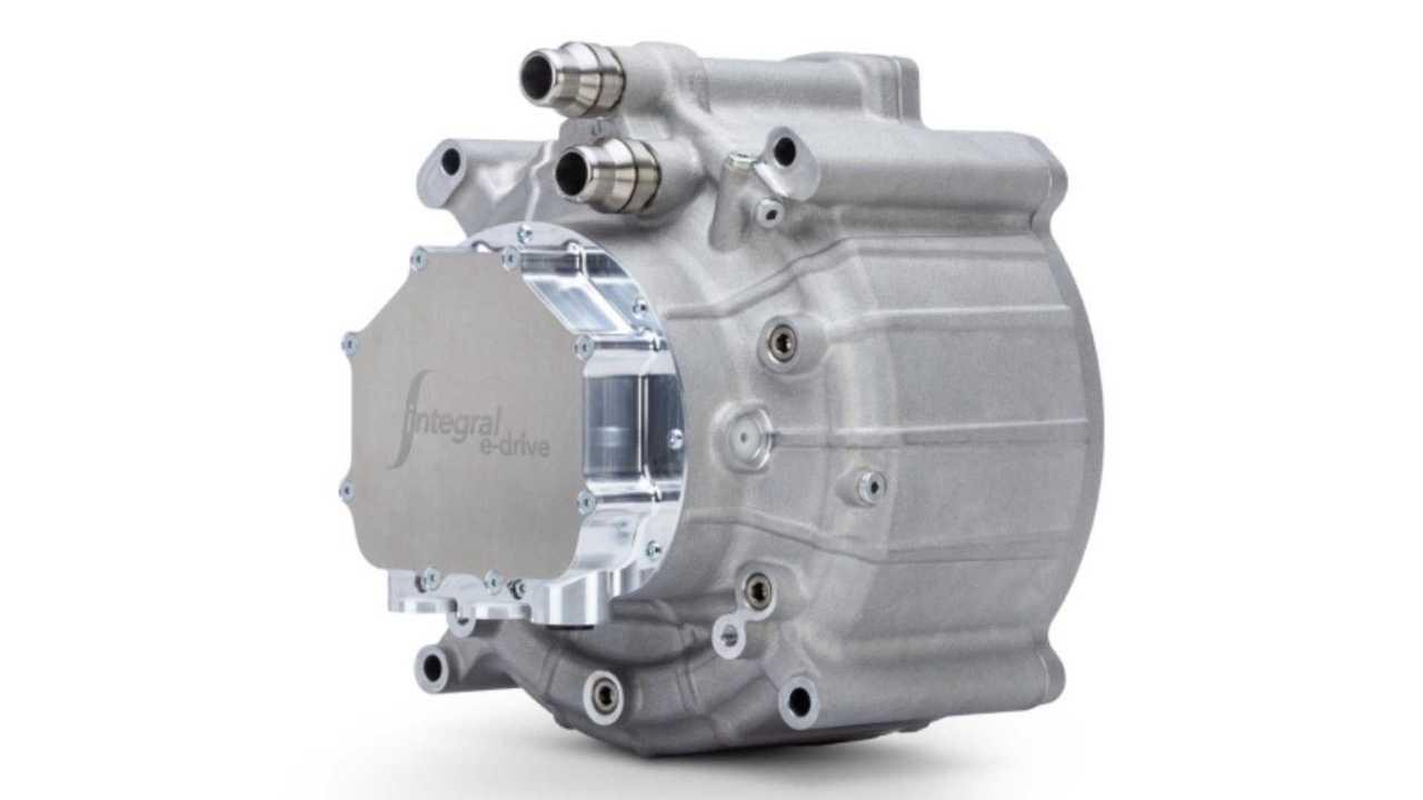 E-drive integral, motores elétricos de alto desempenho