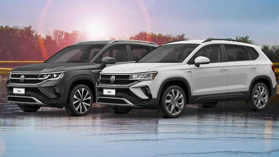VW Taos: as diferenças entre as versões Comfortline e Highline