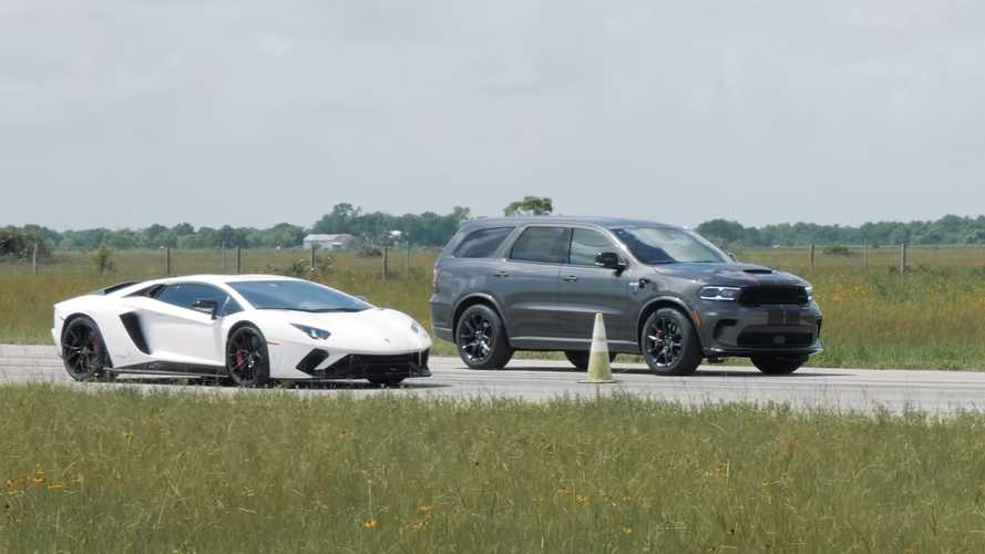Hennessey Durango With 1,000 HP Faces Aventador In Questionable Race