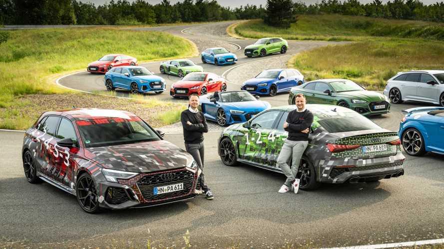 Audi RS 3 (2022): Erster Teaser zu Sportback und Limousine