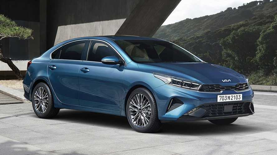 2022 Kia Forte Previewed In South Korea As The Updated K3
