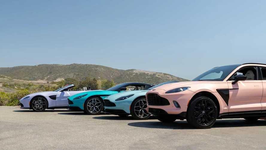 Aston Martin Pastel Koleksiyonu