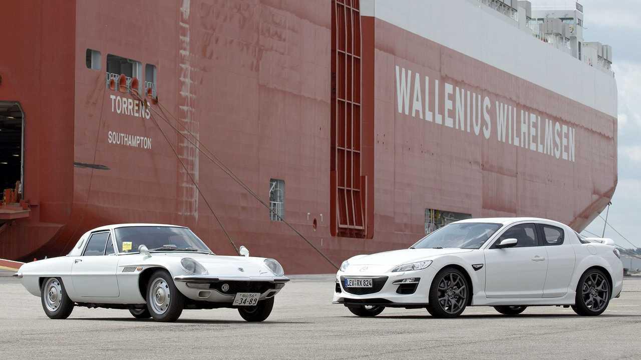 Mazda 10 modelli iconici con motore Wankel