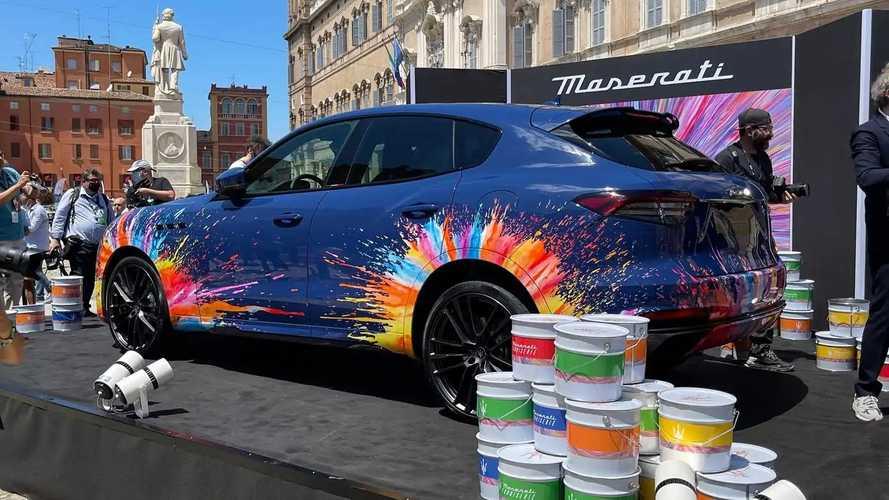 La Maserati Levante di Massimo Bottura