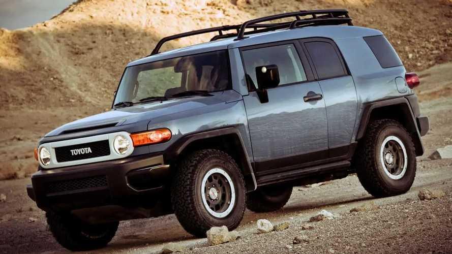 Toyota Sold One New FJ Cruiser So Far In 2021
