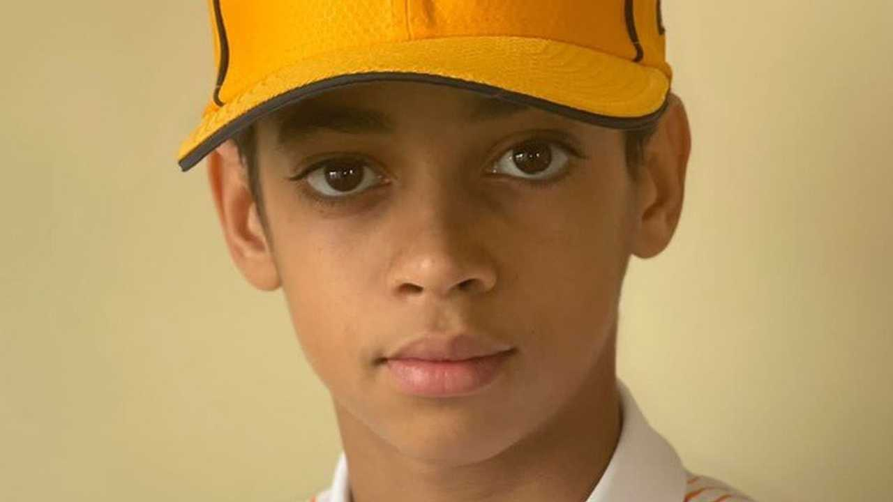 13-year old signed by McLaren