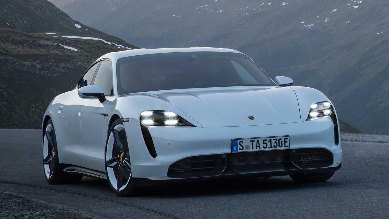 Der Porsche Taycan des Modelljahres 2020 erhält ein kostenloses Software-Update