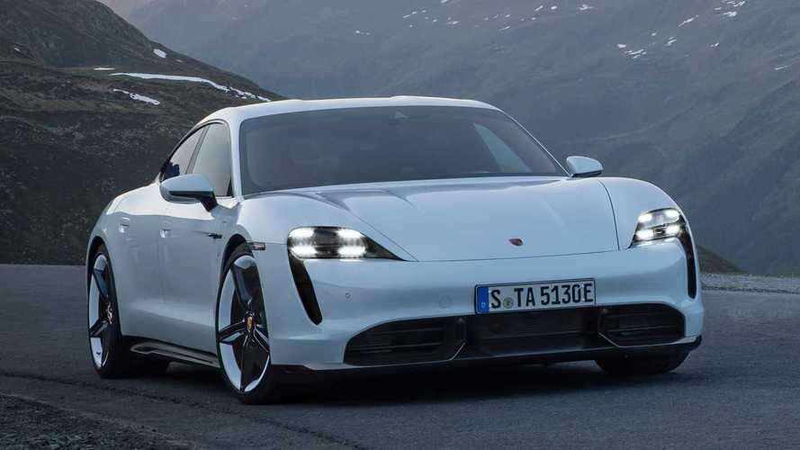 Porsche Taycan des alten Modelljahrs erhält Software-Update