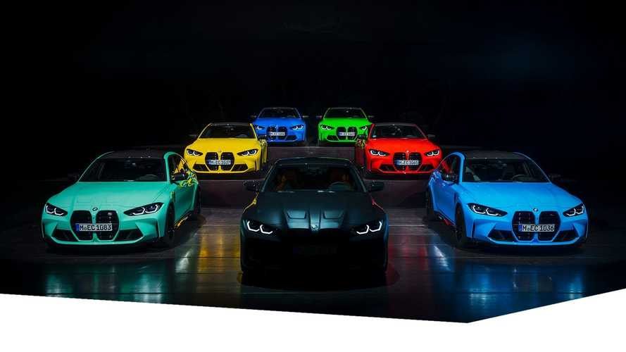 BMW M3 and M4 Color Range