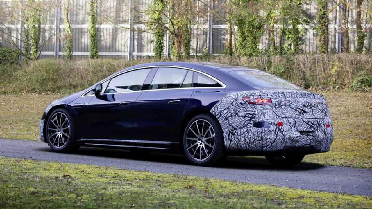 Der Mercedes EQS ist so aerodynamisch wie kein anderes Serienauto