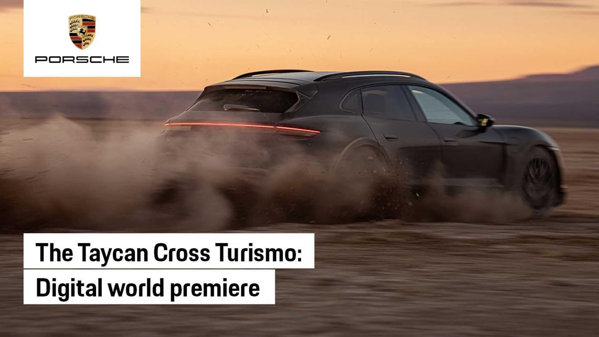 Porsche Taycan Cross Turismo 2022 года дебютирует сегодня: смотрите прямую трансляцию