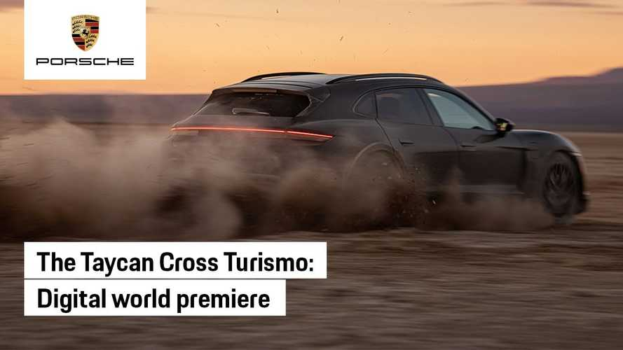 2022 Porsche Taycan Cross Turismo Debuts Today: See The Livestream