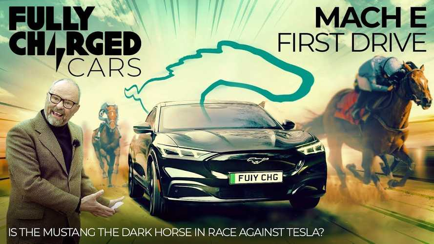 Ford Mustang Mach-E: Fully Charged Review, 'Dark Horse' Against Tesla